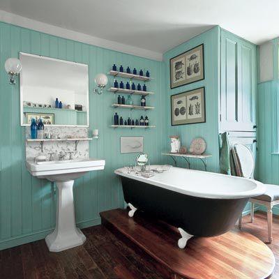Galeria de fotos e imagens casas de banho vintage for Bathroom designs classic